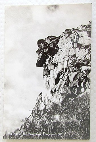 VINTAGE RPPC REAL PHOTO POSTCARD OLD MAN OF THE MOUNTAIN FRANCONIA NH
