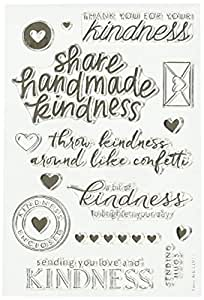"""Hero Arts CL911 Clear Stamps, 4"""" x 6"""", Acts Of Kindness, Clear"""