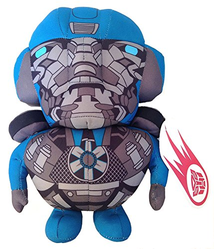 Universal Studios Transformers The Ride Super Deformed Evac Plush Stuffed Toy Figure