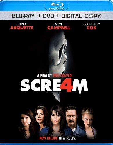Scream 4 (Blu-ray + DVD + Digital Copy)