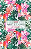 2019 Weekly Planner: Fantastic Floral Flamingo Hawaiian Shirt Print Calendar Brings the Island Life to Your Office Every Day! (Parrothead Planner)