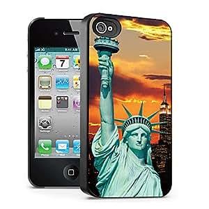 GONGXI- Estatua de la Libertad caso el efecto 3D para iphone4/4s