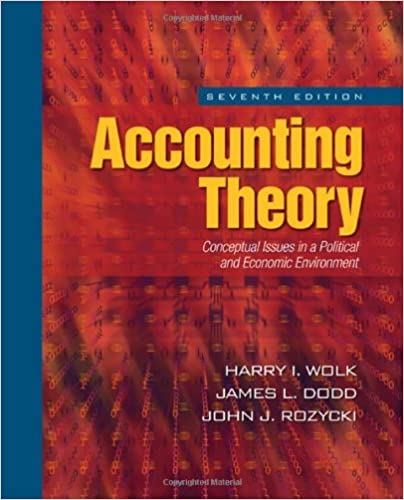 Accounting theory conceptual issues in a political and economic accounting theory conceptual issues in a political and economic environment 7th edition fandeluxe