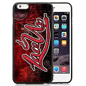 DIY and Newest Iphone 6 Plus Case Design with Lace Up Mgk Case for iphone 6 Plus 5.5 Inch in Black