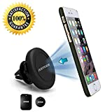 Arteck Universal Air Vent Magnetic Car Mount HolderSetting your phone on a mount in your car has never been easier! Arteck Air Vent Car Mount for smartphones saves you the hassle of placing your smartphone securely to make sure it doesn't fall just p...