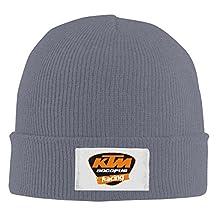 Ktm Logo Warm Kint Slouchy Hat Beanies Cap Black
