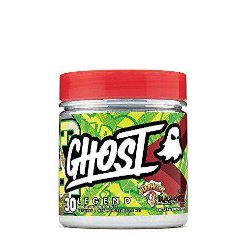 Ghost Legend Pre-Workout Warheads Sour Black Cherry