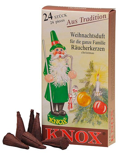 Incense Cone Box - Boxes German Incense Cones - Christmas Scent