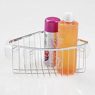 InterDesign - Gia - Organizador de cubículo de ducha, con ventosas ...