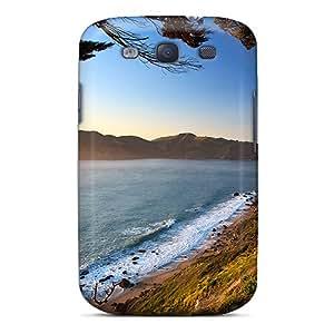 Fashion LkqHUra377XUfXQ Case Cover For Galaxy S3(golden Gate)