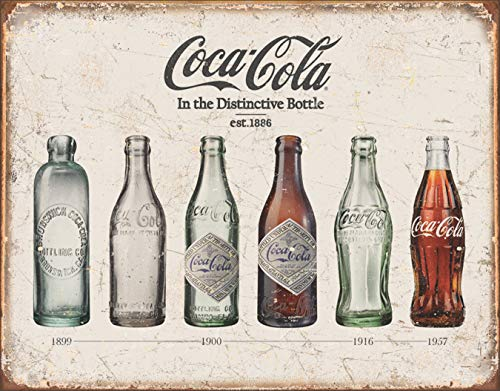 Coke Gift - Desperate Enterprises 4SGM TSN1839 Coke Bottle Evolution