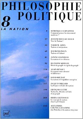 Téléchargez des livres gratuits pour ipad mini La Nation 213046940X PDF DJVU FB2