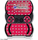 Paper Planes Rasberry - Decal Style Skins (fits Sony PSPgo) by uSkins
