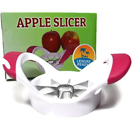 Apple Slicer Corer Cutter - Best to Core and Slice Apples, Pears, Potatoes - Will Handle up to 3-1/2