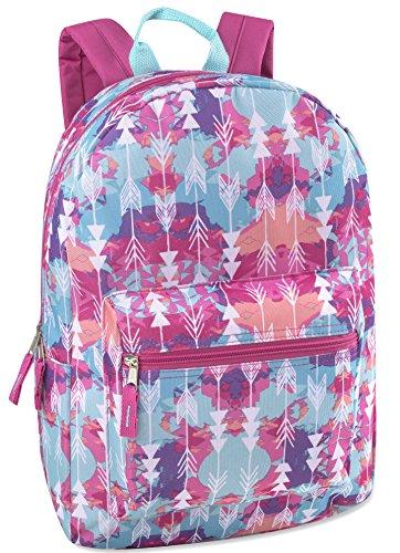 17'' Trailmaker Backpack Bookbag - aztec 4615 by Trail maker (Image #1)