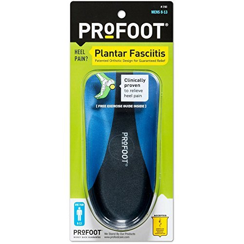 Profoot Plantar Fasciitis Mens 1 Pair 2 Pack by Profoot