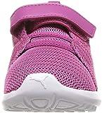 PUMA Baby Carson 2 Velcro Sneaker, Magenta Haze-fig