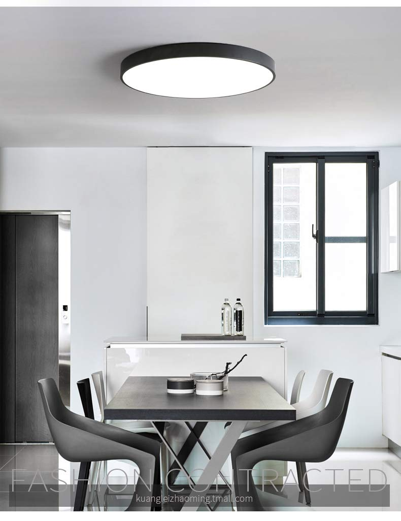 Amazon.com: Lámpara de techo LED ultrafina de 2.0 in ...