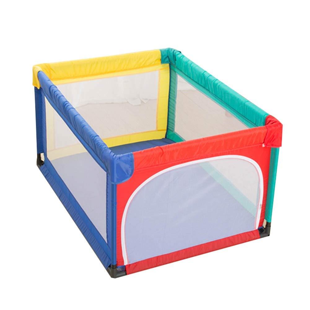 CHAXIA ベビーサークル 赤ちゃん の柵 家庭 ゲームパーク セキュリティ 防護柵 安定しました スペースをとらない 収納が簡単 (色 : A, サイズ さいず : 120X95X70CM) 120X95X70CM A B07S9N1F18