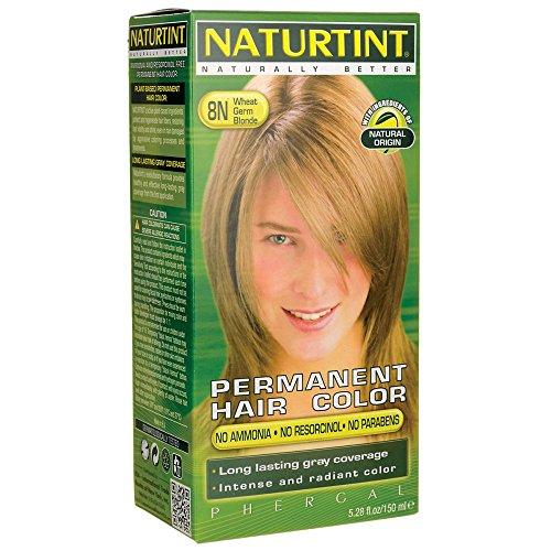 Permanent Hair Color - 8N Wheat Germ Blonde 1 Box -