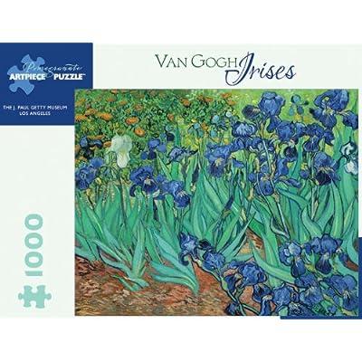 Vincent Van Gogh Irises 1000 Piece Puzzle Inglese Giocattolo 14 Nov 2006
