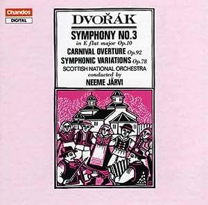 DVORAK SYMPHONY No. 3