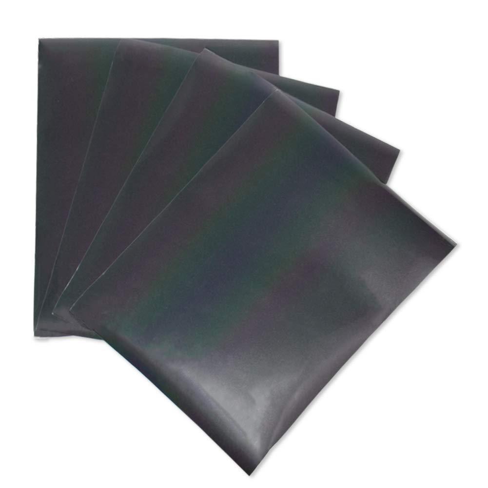 Kenteer Iron on Heat Transfer Vinyl Sheets Glitter HTV for Tshirts 8 Pack 12x10 4336845303