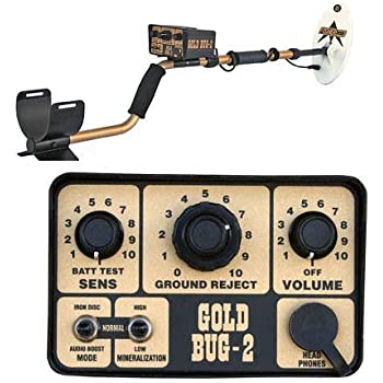 Fisher Gold Bug-2 Metal Detector with 10 1/2