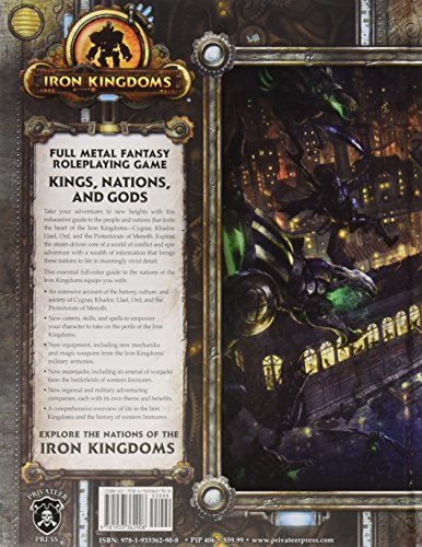 Privateer Press IKRPG Kings Nations and Gods Playset
