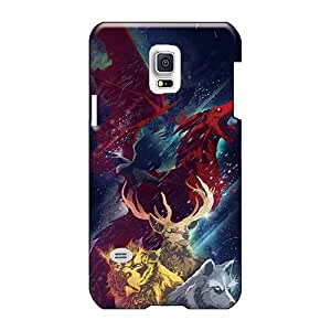 High Quality Phone Case For Samsung Galaxy S5 Mini With Provide Private Custom Fashion Game Of Thrones Illustration Pattern LeoSwiech