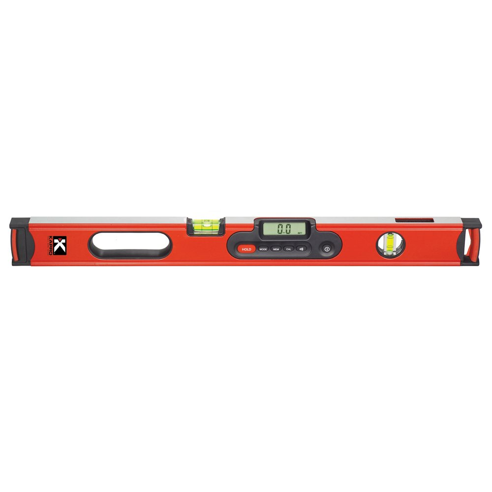 Kapro 985D-48B Digiman Magnetic Digital Level with Plumb Site and Carrying Case, 48-Inch