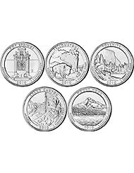 2010 P, D BU National Parks Quarters - 10 coin Set Uncirculated