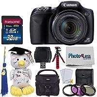 Canon PowerShot SX530 HS Digital Camera + 32GB Memory...