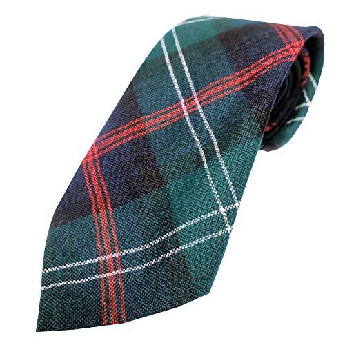 Ingles Buchan Mens Scottish Wool Tartan Tie Sutherland Old