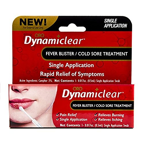 Dynamiclear Non-Prescription over the counter drug - Cold Sore/Fever Blister (