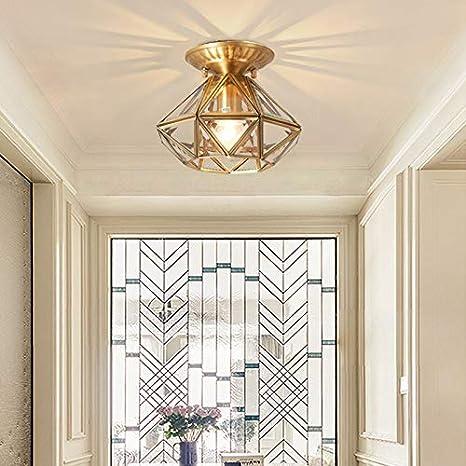 Amazon.com: KY LEE American Copper Aisle lamp Porch lamp ...