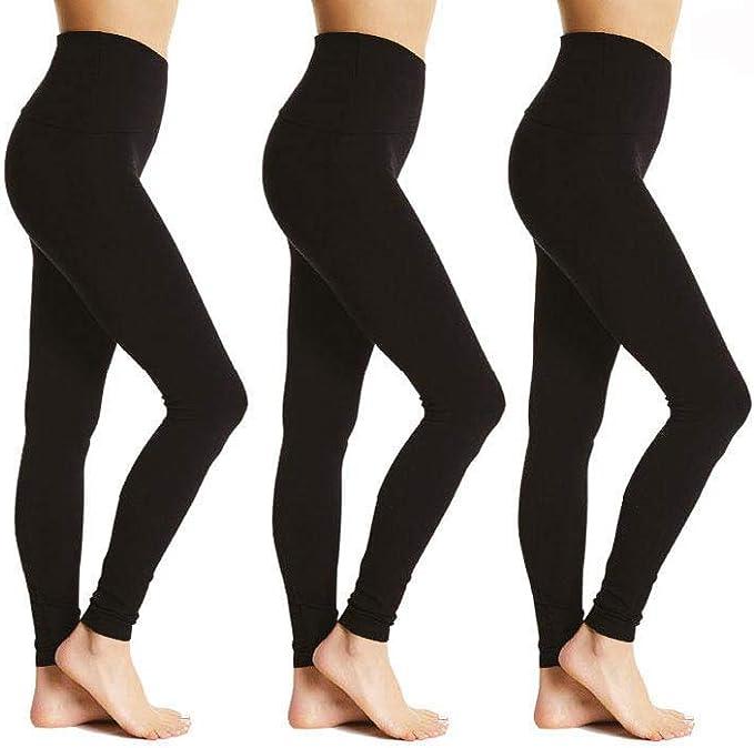 Bonjour® Leggings de algodón de Longitud Completa para Mujer ...