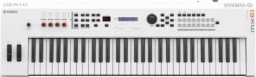 Yamaha MX61 Music Production Synthesizer, White