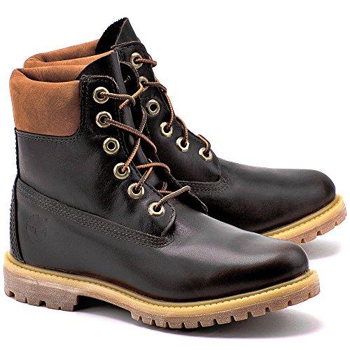 Timberland Af Ek 6 In. Premium Dark Brown Size 6.5 D(M) US Womens