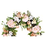 Duovlo-Artificial-Peony-Flower-Wreath-Silk-Wreath-20-Inch-Beautiful-Handcrafted-Mix-Flowers-Front-Porch-Decoration