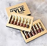 #9: NEW Kylie Jenner Cosmetics Matte Liquid Lipstick Mini Kit Lip Birthday Editions