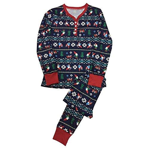 Natale Pigiama Di A Donne Famiglia E Ragazza Uomini Ragazzo Pattern Stampa Bozevon Mammina 8qwTxPFCP