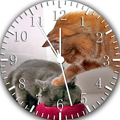 Cute Funny Cat Wall Clock