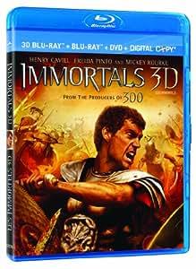 Immortals 3D [Blu-ray 3D + Blu-ray + DVD + Digital Copy] (Bilingual)