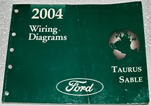 2004 ford taurus, mercury sable wiring diagrams (etm): ford motor company:  amazon com: books