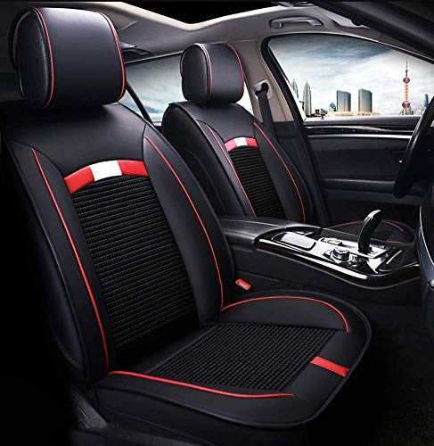 Tcbz Leather Ice Silk Car Seat Cover - Non-slip suede universal seat cushion for leather car seats,B,C: Amazon.co.uk: Sports & Outdoors