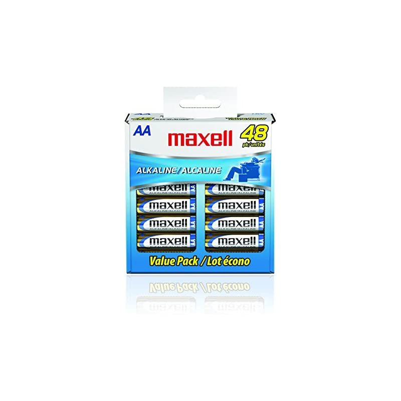 Maxell 723443 Alkaline Battery AA Cell 4