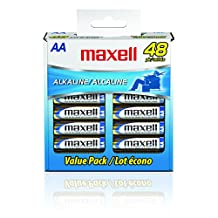 Maxell LR6 AA Cell 48-Pack Box Battery (723443)