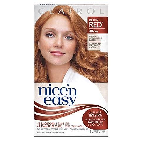 Clairol Nice 'N Easy Hair Color 108 Natural Reddish Blonde 1 Kit (Pack of 12)