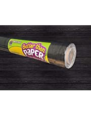Teacher Created Resources Black Wood Better Than Paper Bulletin Board Roll